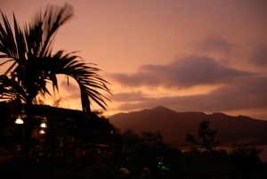KARE at sunset