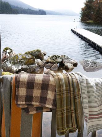 Soft wool blankets